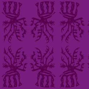 elk in purple-ch
