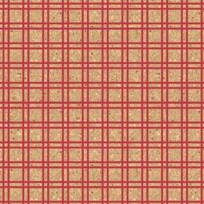 Geranium Reds Grid © Gingezel™ 2012