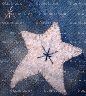 Indigo and Stars ©LLausen