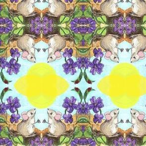 mice bouquets
