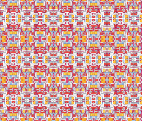 rectangles_2 fabric by kcs on Spoonflower - custom fabric