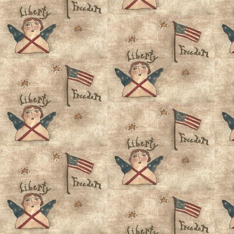 liberty_freedom_fabric_final fabric by robin006 on Spoonflower - custom fabric