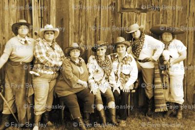 Women Of The Wild West