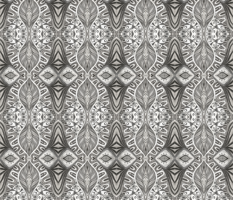 Shadow_show fabric by yezarck on Spoonflower - custom fabric