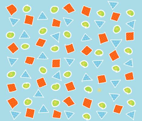 Dino Scatter Pattern fabric by deeniespoonflower on Spoonflower - custom fabric