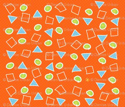 Dino Scatter Pattern