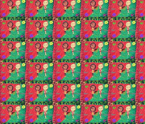 Safiya + 1 fabric by justjoycelyn on Spoonflower - custom fabric