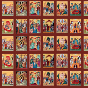"""The Twelve Great Feasts"" in Icons"