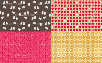 Salt 'n Pepper Color Coordinates 4-in-1