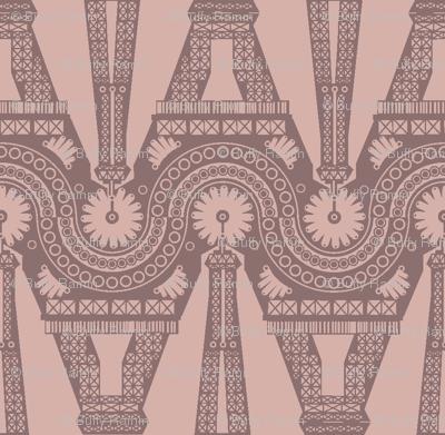 Eiffel Geometric - Blush