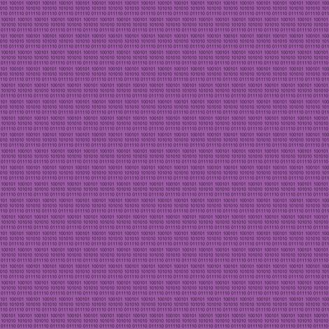 Binary Purple fabric by gimpworks on Spoonflower - custom fabric