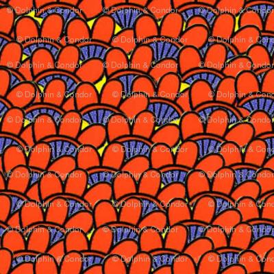 PostCrossing RU-983197 Red