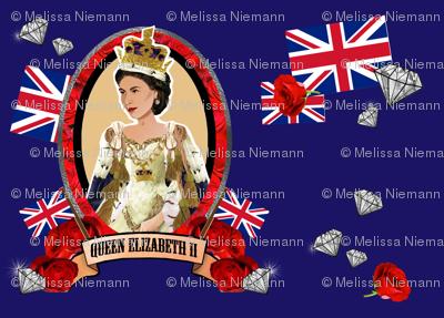 Diamond Jubilee in Blue