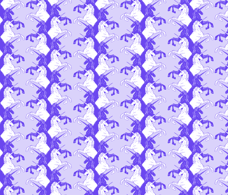 Unicorns fabric by jhacarlson on Spoonflower - custom fabric