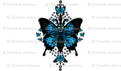 Parisian butterfly