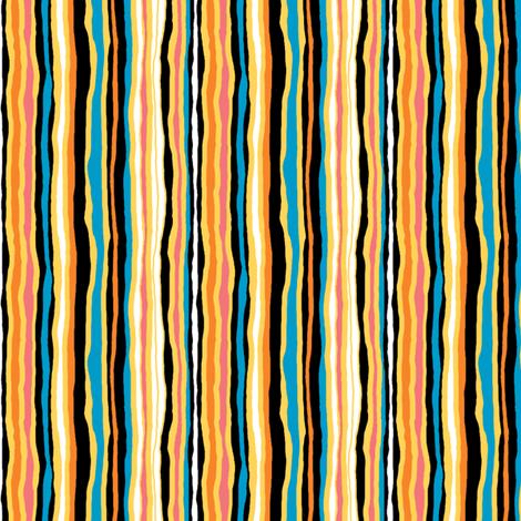 The Sky Is Falling_Companion Stripe fabric by tallulahdahling on Spoonflower - custom fabric