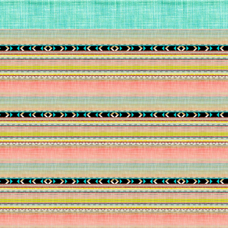 Doll faux linen segments fabric by joanmclemore on Spoonflower - custom fabric