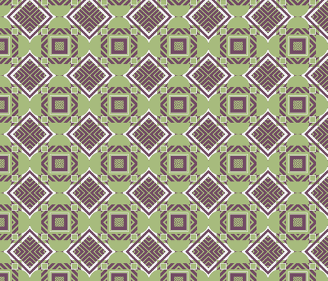 Abstract Geometric fabric by mammajamma on Spoonflower - custom fabric