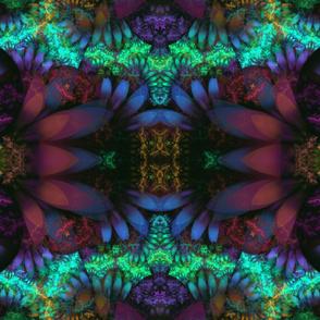 Fractal Garden Fabric