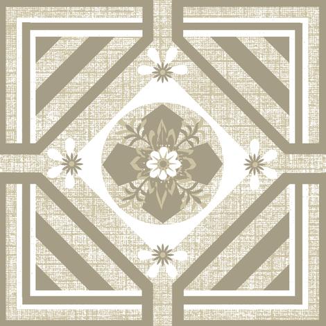 A Geo / khaki fabric by paragonstudios on Spoonflower - custom fabric