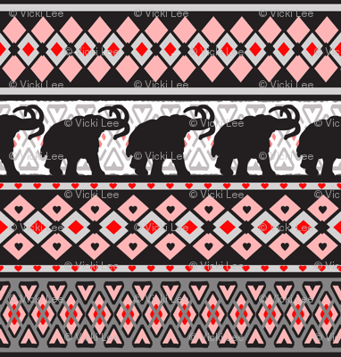 Fairisle Woolly Mammoth