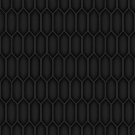 Tali'Zorah Hexagon Pattern fabric by masterwaffle on Spoonflower - custom fabric