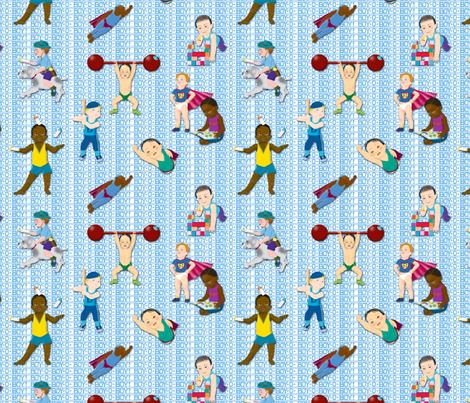 Boy-O-Boy-O-Boy!_Small fabric by tallulahdahling on Spoonflower - custom fabric