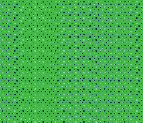 Summer Wheat Dot fabric by acbeilke on Spoonflower - custom fabric