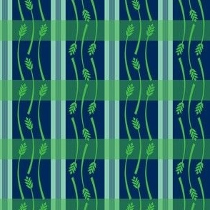 Summer Wheat Plaid
