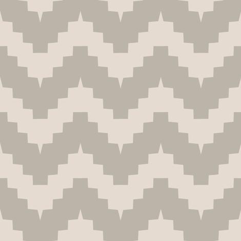 chevron greige fabric by ravynka on Spoonflower - custom fabric