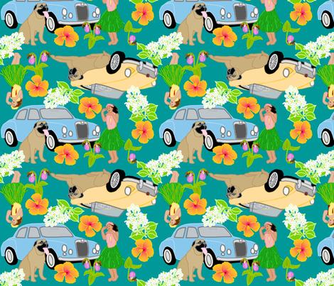 hawaiian fabric by roxiespeople on Spoonflower - custom fabric