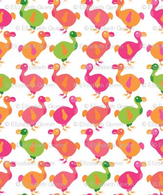 Do dodos do pink?