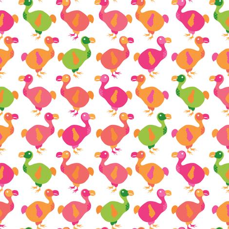 Do dodos do pink? fabric by ebygomm on Spoonflower - custom fabric