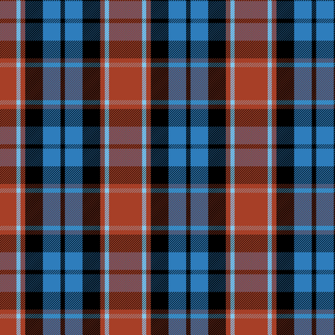 Graham of Menteith tartan (red variation, ancient colors) fabric by weavingmajor on Spoonflower - custom fabric