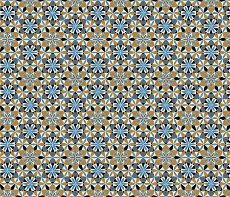 Maroccan twilight fabric by andrea11 on Spoonflower - custom fabric