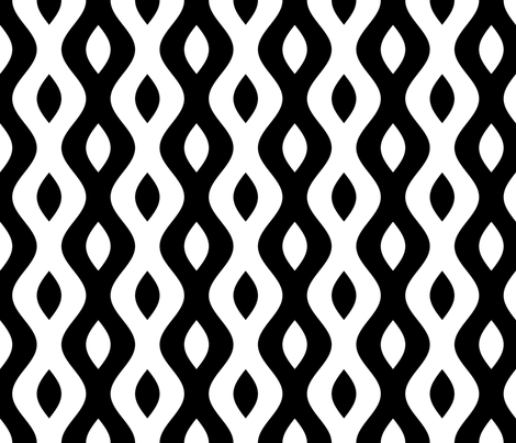 sine wave lens 4 fabric by sef on Spoonflower - custom fabric