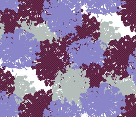 Trachymene Coerulea fabric by siya on Spoonflower - custom fabric