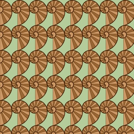 snail fabric by sef on Spoonflower - custom fabric