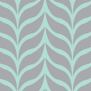 wheat sheaf mint/gray