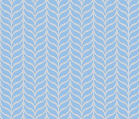 wheat sheaf blue/gray fabric by jenr8 on Spoonflower - custom fabric