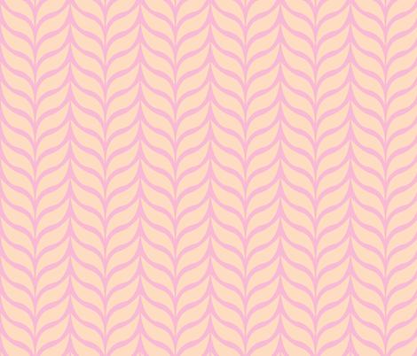 wheat sheaf pink/peach fabric by jenr8 on Spoonflower - custom fabric