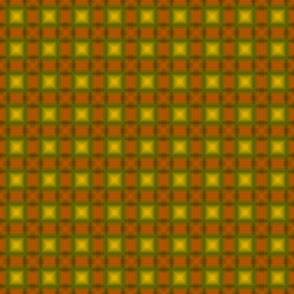 Shadow Plaid  orange