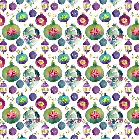 cestlaviv_very vintage ornaments fabric by cest_la_viv on Spoonflower - custom fabric