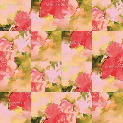 Pomegranate Flower Montage