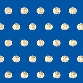 UVA Rotunda-Blue TowelView