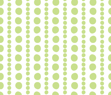 grass on white pebbles fabric by christiem on Spoonflower - custom fabric