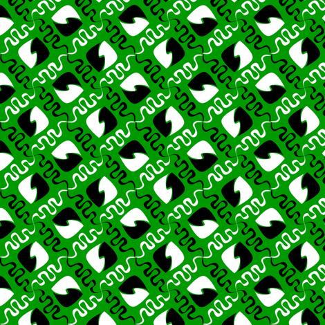 squiggle_leaf_lawn fabric by glimmericks on Spoonflower - custom fabric