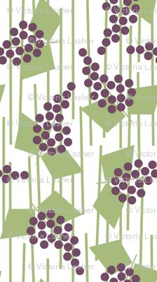 Geometric grapes