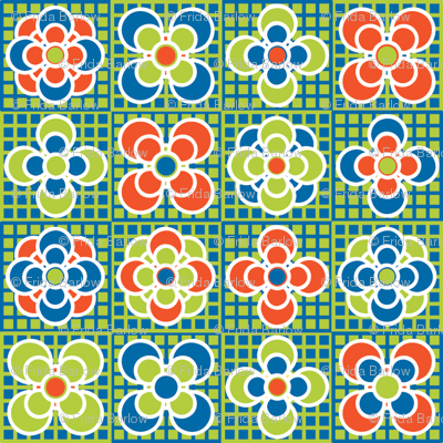 Checkered Flowers