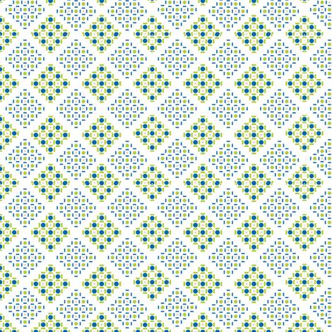 Small_Diamonds fabric by fridabarlow on Spoonflower - custom fabric